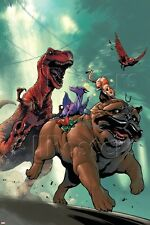 Marvel Lockjaw and the Pet Avengers No.2 Cover: Lockjaw, Lockheed and De… Poster