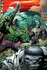 Marvel Hulk: Broken Worlds No.2 Cover: Hulk Poster