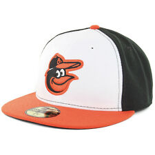 New Era 59Fifty Baltimore Orioles Home Fitted Cap MLB AC On Field Hat