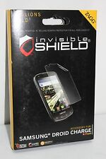 ZAGG Invisible Shield For Samsung Droid Charge NEW!* FFSAMDROCH