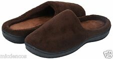 Soft Winter Warm Memory Foam Coral Fleece House Slippers for Men, 3 Colors