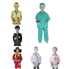Boys Girls Halloween Fancy Dress up Emergency Services Costume Party Supplies