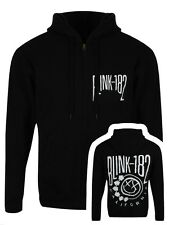 Blink-182 Blink 182 Cali Smile Zip Up Men's Black Hoodie