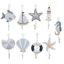 Various Beach Fish Starfish Seashell Decor Clothes Towel Wall Hanger Hat Hooks