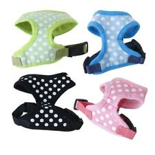 Pet Dog Puppy Polka Dots Soft Mesh Harness Clothes Apparel Size XS-XL