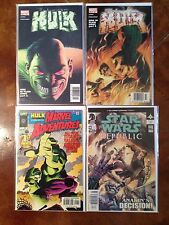 4 COMIC BOOK LOT 3 HULK Marvel Comic Books  #1 AND MORE  FIRST PRINTS 1 STAR WAR