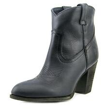 Frye Ilana Short Boot Women  Pointed Toe Leather Black Bootie