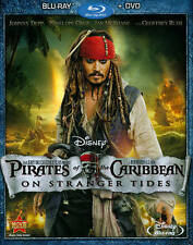 Pirates of the Caribbean: On Stranger Tides (Blu-ray/DVD, 2011, 2-Disc Set)BRNEW