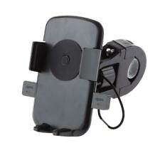 Motorcycle Bicycle MTB Bike Handlebar Mount Holder Case For Cell Phone GPS