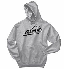 Made In Kentucky Funny Sweatshirt Home State Pride Holiday Gift Hoodie