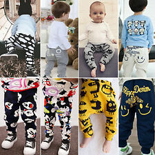 Toddler Clothes Baby Boys Girls Cotton Harem Pants Trousers PP Leggings Bottom
