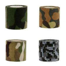 5M Camouflage Camo Wrap Sticky Adhesive Tape For Bicycle Hunting Camping Tool