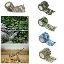 5cm x 4.5m Camo Wrap Rifle Gun Camouflage Stealth Tape Outdoor Desert Jungle ACU
