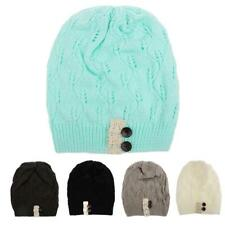 Fashion Winter Women Beret Warm Baggy Beanie Slouchy Baggy Hat Cap Skull Cotton