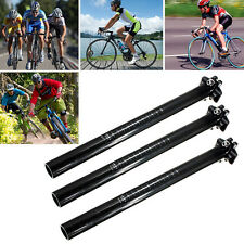 3K 27.2/30.8/31.6mm x350mm Carbon Fiber MTB Road Mountain Bicycle Bike Seatpost