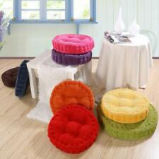 Circular/Round Bistro Kitchen/Dining/Patio Chair Seat Pad Cushions 7 Colors