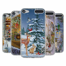 OFFICIAL CHRISTMAS MIX WINTER WONDERLAND SOFT GEL CASE FOR APPLE iPOD TOUCH MP3