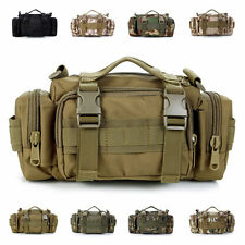 Outdoor Tactical Military Waist Pack Shoulder Molle Bag Camping Hiking Pouch 15L