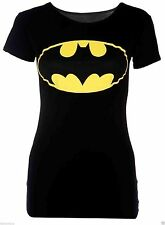 Womens Ladies Plus Size Sleeveless Superman Batman T Tee Shirt Vest Top 8-26