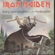 "IRON MAIDEN Bring Your Daughter To The Slaughter 7"" VINYL 2 Track 1 Sided Disc"