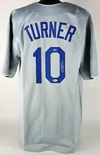 Dodgers Justin Turner Authentic Signed Grey Jersey PSA/DNA ITP #7A39552