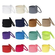 10 Pcs/lot Colorful Hair Ties Rope Elastic Ring Bands Headband For Baby Girls