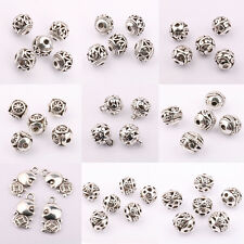 New Lots 10/20Pcs Tibet Metal Loose Spacer Pendants Beads Jewelry Finding Gifts