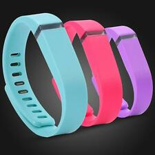 New Size Large Replacement Wrist Band Wristband for Fitbit Flex with Clasps ZD