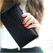 Handbag Purse Fashion Lady Women Zipper Bag Long Faux Leather Wallet Best Gifts
