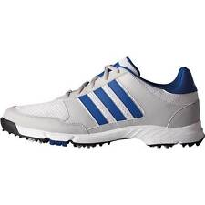 New Adidas Tech Response Mens Golf Shoes White/Royal/Onix - NIB