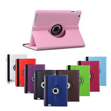 For ipad 2 ipad 3 ipad 4 Tablet Case 360 Degree Rotating PU Leather Stand