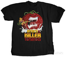 Attack of the Killer Tomatoes - Movie Poster Apparel T-Shirt - Black