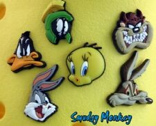 Looney Tunes Jibbitz Authentic Crocs Shoe Charms Taz Bugs Daffy Tweety Coyote