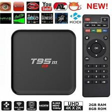 T95N android tv box S905X Quad Core android 6.0 1GB/2GB+8GB 3D Wifi HD 4K 1080P