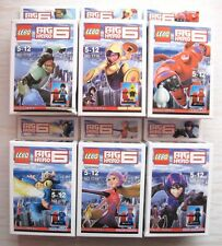 6pcs/set Mini Figures Big hero 6 Building Toys minifigure Toy
