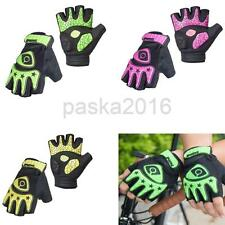 Fingerless Cycling Bicycle Bike Gloves Half Finger Less Gel Padded Palm XL L M