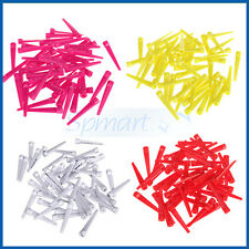 50pcs/pack 70mm Wedge Plastic Golf Tees Practice Training Accessories 4 Colors