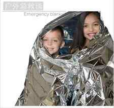 BEST Outdoor Silver Emergency Blanket Survival Rescue Outdoor Life-saving Large