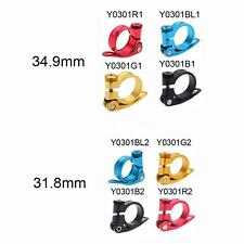 Bicycle Road MTB Bike Seat Post Clamp Seatpost Clamp Quick Release 31.8mm C7B0