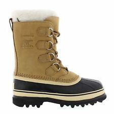 Sorel Caribou Buff Brown Beige Womens Boots