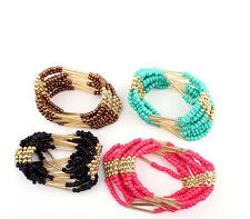 Bohemian Bracelet New Bracelet Womens Multilayer Beaded Bangle Fashion Jewelry