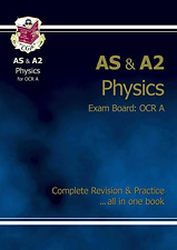 AS/A2 Level Physics OCR A Complete Revision & Practice, Good Condition Book, Par
