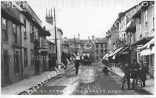 Suffolk Stowmarket Ipswich Street Old Photo Print - Size Selectable