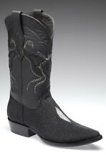 Genuine Stingray Pointed Toe Cowboy Western Boots made by Cuadra