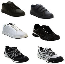 NEW MENS BOYS WALKING LIGHTWEIGHT GYM SPORTS RUNNING CASUAL TRAINERS SHOES 7-11