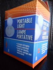 PORTABLE LIGHT(s) (On/Off Switch) // *Portable/*Wall Mountable Lamp //