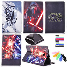PU Leather Protective Case For Apple iPad 2nd,3rd,4th Gen Star Wars Stand Cover
