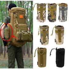 Tactical Molle Military Water Bottle Hydration Pouch Bag Camping Hiking Climbing