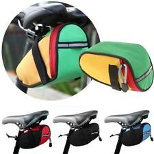 Multi color Saddle Tail Rear Storage Bike Pouch Bicycle Cycling Seat Bag