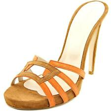 Charles David Mari Women  Open Toe Suede Orange Sandals